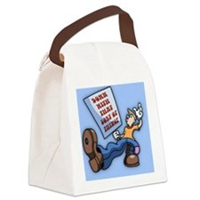 truckn-sign-BUT Canvas Lunch Bag