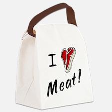 iheartsteak Canvas Lunch Bag