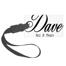 dave Luggage Tag