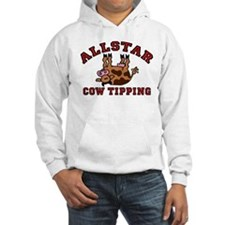 Cow Tipping Brown Cow Hoodie