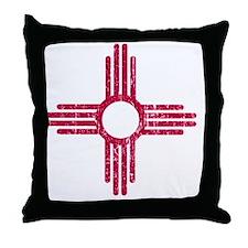 NM_red_shirt Throw Pillow