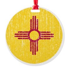NM_round_merch Ornament
