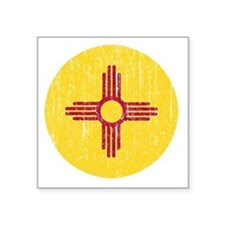 "NM_round_merch Square Sticker 3"" x 3"""