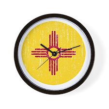 NM_round_merch Wall Clock