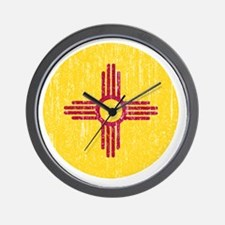 NM_round_merch Wall Clock