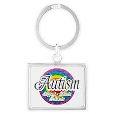 Autism-Target Landscape Keychain