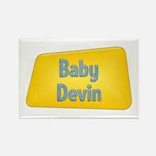 Baby Devin Rectangle Magnet