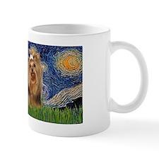 LIC-StarryNight-YorkshireTerrier7 Mug