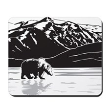 Grizzly in Alaska Mousepad