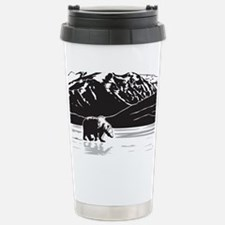 Grizzly in Alaska Stainless Steel Travel Mug