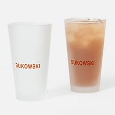 bukowski8_w Drinking Glass