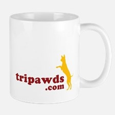 Team Tripawds Back Dark Mug