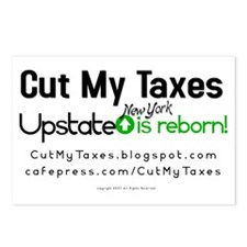 Cut My Taxes Postcards (Package of 8)