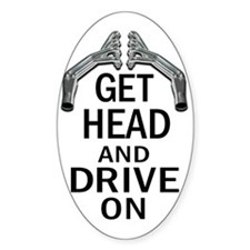 Get Head Drive On 2 Decal