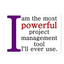 Most Powerful PM Tool Postcards (Package of 8)