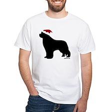 NewfSantaOnBlack Shirt