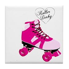 Roller Derby BS Tile Coaster