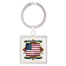 35th Indiana -1st Irish (Diamond) Square Keychain