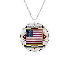 35th Indiana -1st Irish (Dia Necklace