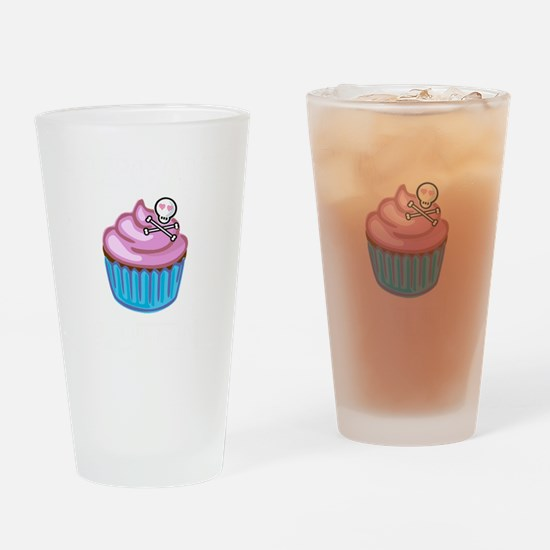 Cupcake Queen BS Drinking Glass
