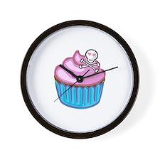 Cupcake Queen BS Wall Clock