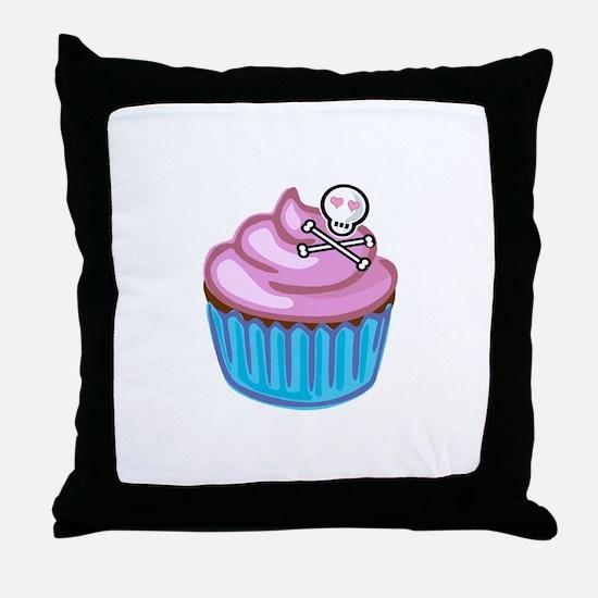 Cupcake Queen BS Throw Pillow