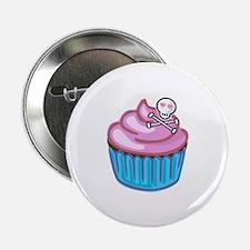 """Cupcake Queen BS 2.25"""" Button"""