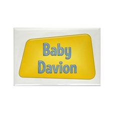 Baby Davion Rectangle Magnet