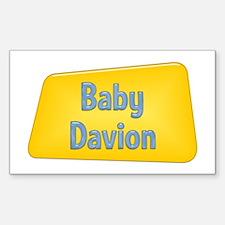 Baby Davion Rectangle Decal