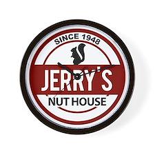 jerrys_logo_stephen Wall Clock
