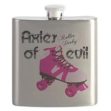 Roller Derby Flask