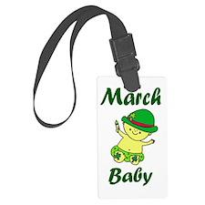 March Baby copy Luggage Tag
