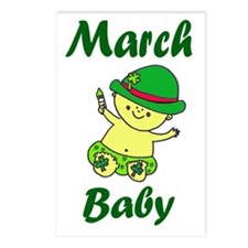 March Baby copy Postcards (Package of 8)
