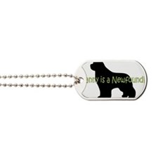 NannyNewf Dog Tags