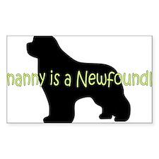 NannyNewf Decal