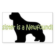SisterNewf Decal