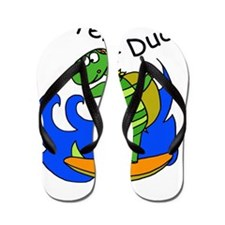 Surfer Dude copy Flip Flops