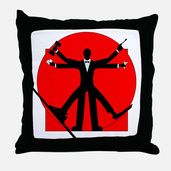 vitrian spy Throw Pillow