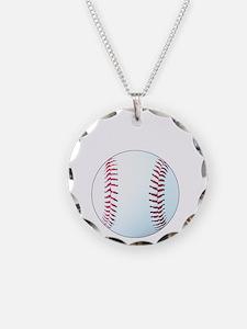 Baseball, Eat, Sleep, Breath Necklace