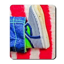 Baby shoe Mousepad