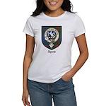 Agnew Clan Crest Tartan Women's T-Shirt
