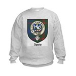 Agnew Clan Crest Tartan Kids Sweatshirt