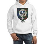 Agnew Clan Crest Tartan Hooded Sweatshirt
