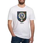 Agnew Clan Crest Tartan Fitted T-Shirt