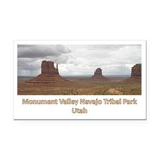 Monument_Valley Rectangle Car Magnet