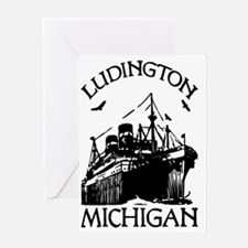 Ludington Michigan Greeting Card