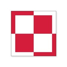"pl1 Square Sticker 3"" x 3"""