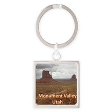 Monument_Valley_Mousepad Square Keychain
