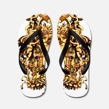 borgia-arms-ornate Flip Flops