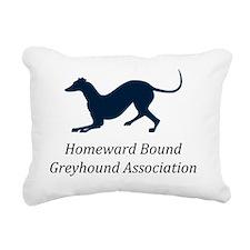 RGB-HBGA-T-Shirt Rectangular Canvas Pillow